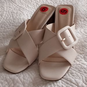 Halston Sandals with Buckles